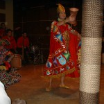 The Folklore Dance during Dinner Evening.